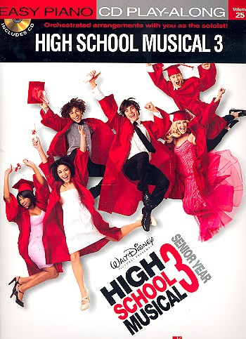 High School Musical 3 for easy Piano mit Play Along CD
