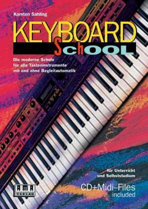 Keyboard School, incl. CD Karsten Sahling